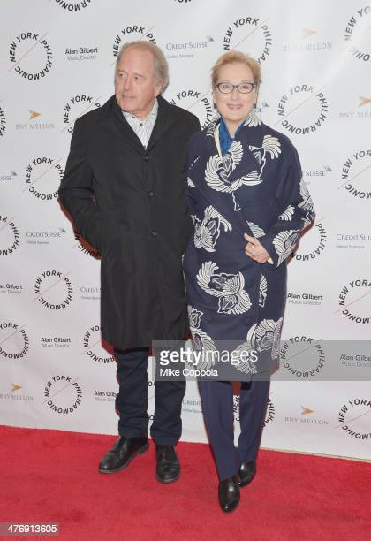Don Gummer and actress Meryl Streep attend the 2014 The New York Philharmonic Spring Gala featuring 'Sweeney Todd The Demon Barber of Fleet Street'...