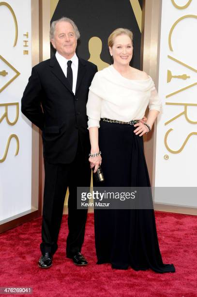 Don Gummer and Meryl Streep attend the Oscars held at Hollywood Highland Center on March 2 2014 in Hollywood California