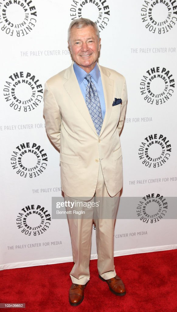 Don Hastings attends a farewell to cast of 'As The World Turns' at The Paley Center for Media on August 18, 2010 in New York City.