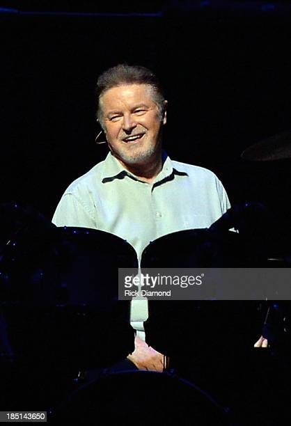 Don Henley of the Eagles performs during 'History Of The Eagles Live In Concert' at the Bridgestone Arena on October 16 2013 in Nashville Tennessee