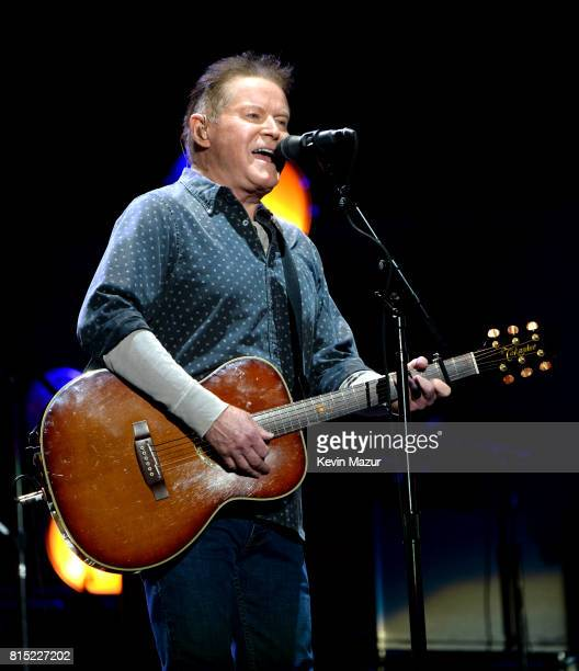 Don Henley of The Eagles performs onstage during The Classic West at Dodger Stadium on July 15 2017 in Los Angeles California