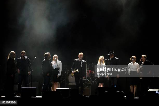 Don Henley performs during his 70th birthday celebration at the American Airlines Center on July 22 2017 in Dallas Texas