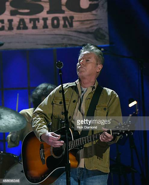 Don Henley performs onstage at the 14th annual Americana Music Association Honors and Awards Show at the Ryman Auditorium on September 16 2015 in...