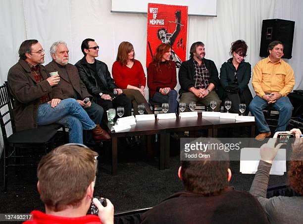 Don Horgan Dennis Riordan producer Damien Echols producer Lorri Davis director Amy Berg producer Peter Jackson producer Fran Walsh and Stephen Braga...
