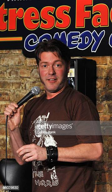 Don Jamieson performs at the Jonathan Dayton HS Project Gradation Benefit show at The Stress Factory Comedy Club on March 24 2010 in New Brunswick...