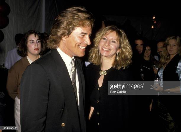Don Johnson and Barbra Streisand