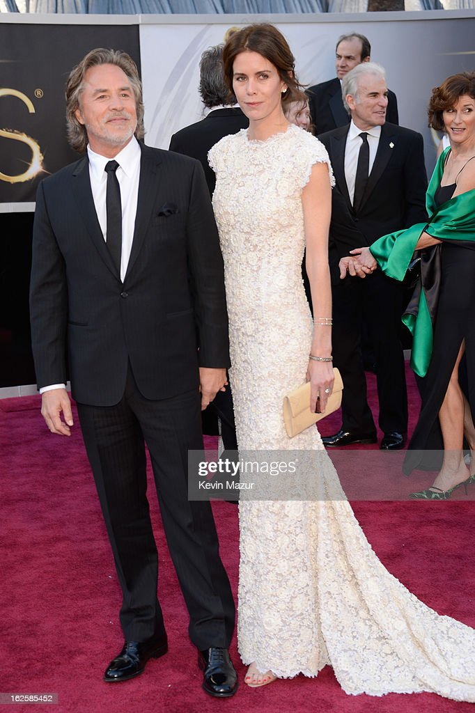 <a gi-track='captionPersonalityLinkClicked' href=/galleries/search?phrase=Don+Johnson&family=editorial&specificpeople=211250 ng-click='$event.stopPropagation()'>Don Johnson</a> and Kelley Phleger arrive at the Oscars held at Hollywood & Highland Center on February 24, 2013 in Hollywood, California.