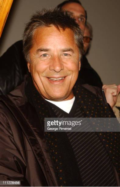 Don Johnson at the Creative Coalition and ICM AfterHours Party at the Chrysler Lodge