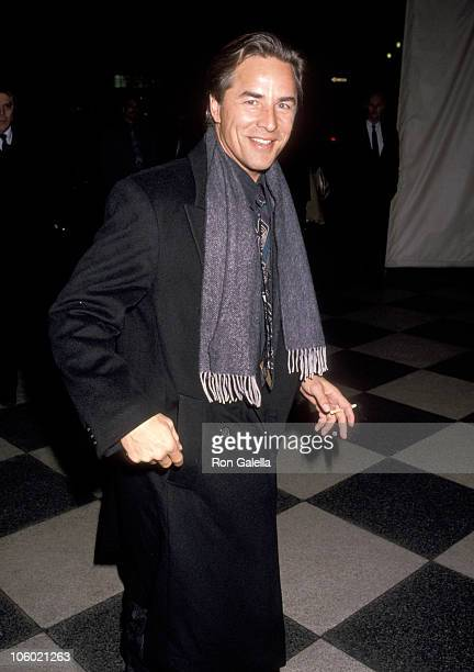 Don Johnson during Don Johnson Sighted at the Plaza Hotel January 16 1990 at Plaza Hotel in New York City New York United States