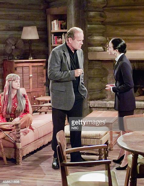 FRASIER 'Don Juan in Hell Part 2' Episode 2 Pictured Dina SpybeyWaters as Nanette Kelsey Grammer as Dr Frasier Crane Bebe Neuwirth as Dr Lilith...