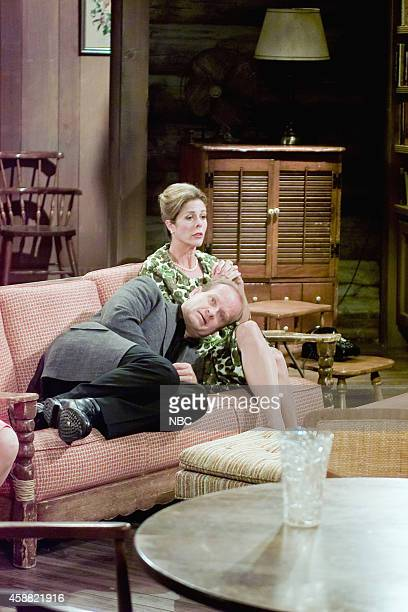 FRASIER 'Don Juan in Hell Part 2' Episode 2 Pictured Kelsey Grammer as Dr Frasier Crane Rita Wilson as Hester Crane