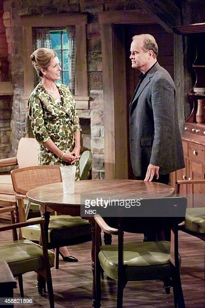 FRASIER 'Don Juan in Hell Part 2' Episode 2 Pictured Rita Wilson as Hester Crane Kelsey Grammer as Dr Frasier Crane