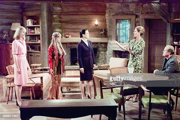 FRASIER 'Don Juan in Hell Part 2' Episode 2 Pictured Shelley Long as Diane Chambers Dina SpybeyWaters as Nanette Bebe Neuwirth as Dr Lilith Sternin...