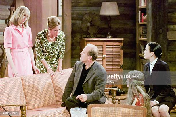 FRASIER 'Don Juan in Hell Part 2' Episode 2 Pictured Shelley Long as Diane Chambers Rita Wilson as Hester Crane Kelsey Grammer as Dr Frasier Crane...