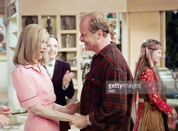 FRASIER 'Don Juan in Hell Part 2' Episode 2 Pictured Shelley Long as Diane Chambers Kelsey Grammer as Dr Frasier Crane