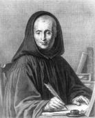 Don Juan Mabillon abbey benedictine monk engraving