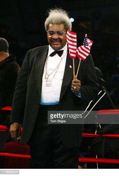 Don King during 'Night of the Undisputed' Boxing Match Featuring Zab 'Super' Judah and Jamie 'El Martillo' Rangel at the Boardwalk Hall at Boardwalk...