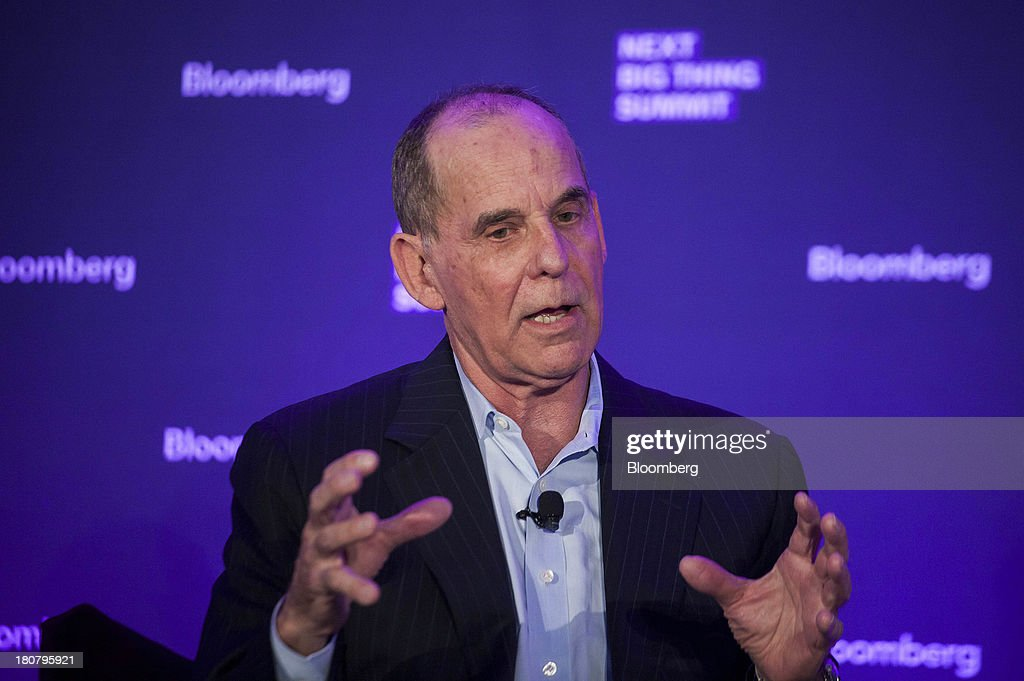 Don Kingsborough, vice president of retail and prepaid products at PayPal Inc., speaks at the Bloomberg Next Big Thing Summit in New York, U.S., on Monday, Sept. 16, 2013. The conference convenes the most influential investors and industry leaders in innovation and science to explore the great frontiers of how technology is changing the way we live, work, and interact. Photographer: Michael Nagle/Bloomberg via Getty Images