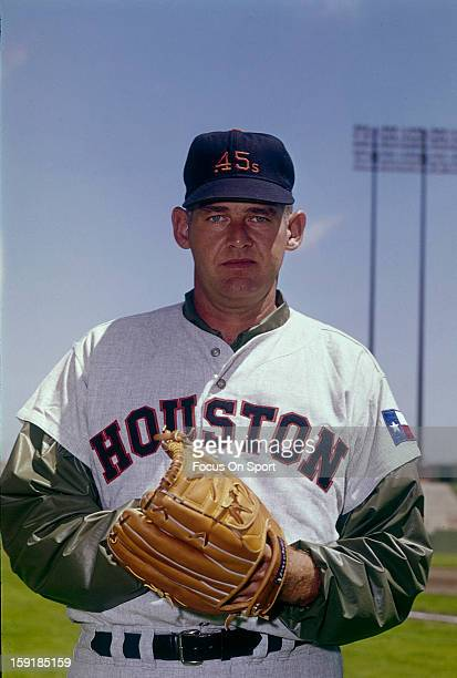 Don Larsen of the Houston Colt 45 's poses for this photo before a Major League Baseball game circa 1964 Larsen played for Houston from 196465