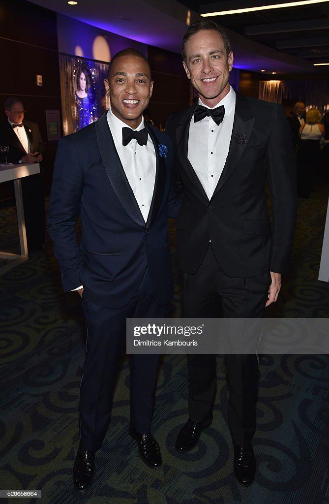 Don Lemon (L) and Dr. Craig T. Zebuda attend the Yahoo News/ABC News White House Correspondents' Dinner Pre-Party at Washington Hilton on April 30, 2016 in Washington, DC.