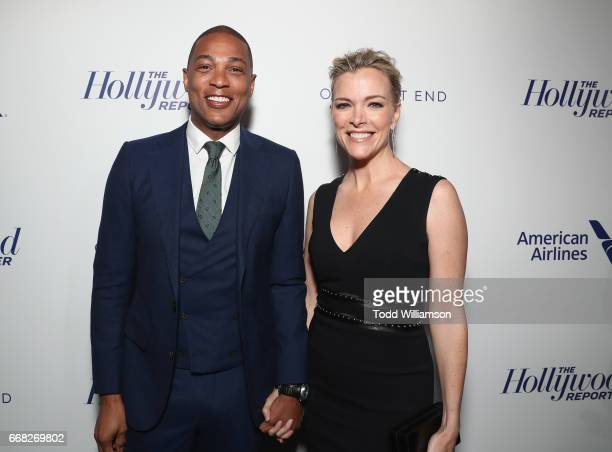 Don Lemon and Megyn Kelly attend The Hollywood Reporter 35 Most Powerful People In Media 2017 at The Pool on April 13 2017 in New York City