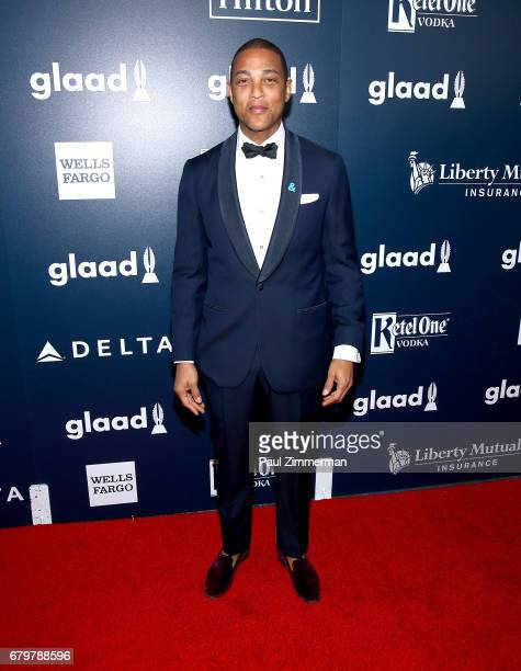 Don Lemon attends the 28th Annual GLAAD Awards at New York Hilton Midtown on May 6 2017 in New York City