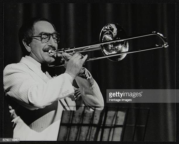 Don Lusher trombonist and bandleader of the Ted Heath Orchestra Artist Denis Williams