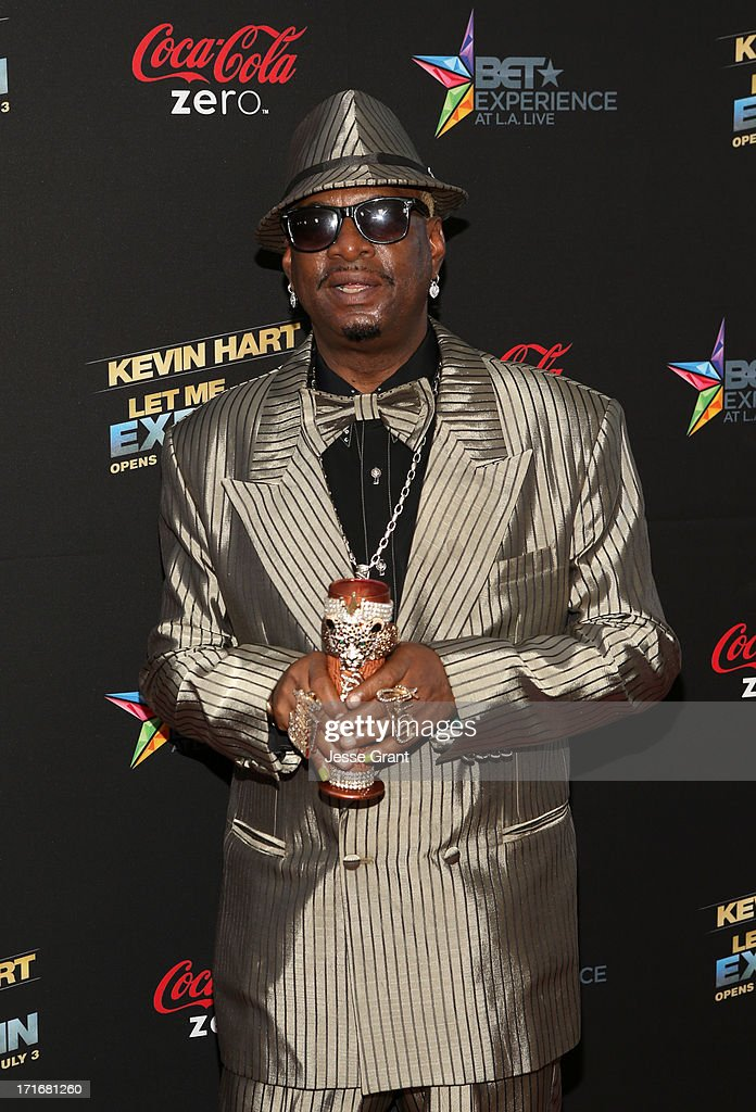 Don 'Magic' Juan attends Movie Premiere 'Let Me Explain' with Kevin Hart during the 2013 BET Experience at Regal Cinemas L.A. Live on June 27, 2013 in Los Angeles, California.