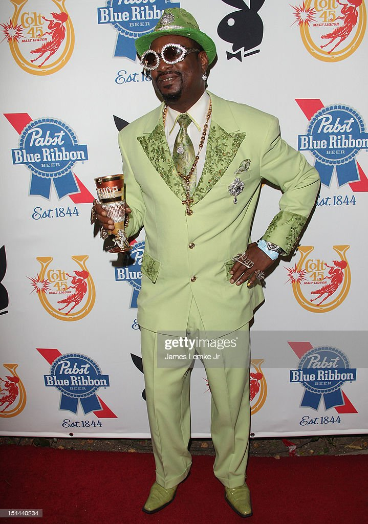 <a gi-track='captionPersonalityLinkClicked' href=/galleries/search?phrase=Don+Magic+Juan&family=editorial&specificpeople=743720 ng-click='$event.stopPropagation()'>Don Magic Juan</a> attends Snoop Dogg Presents: Colt 45 'Works Every Time' mansion party with Evan and Daren Metropoulos at The Playboy Mansion on October 19, 2012 in Beverly Hills, California.
