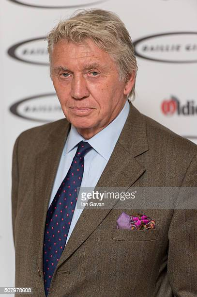 Don McCullin arrives for the 'Oldie Of The Year Awards' at Simpsons in the Strand on February 2 2016 in London England