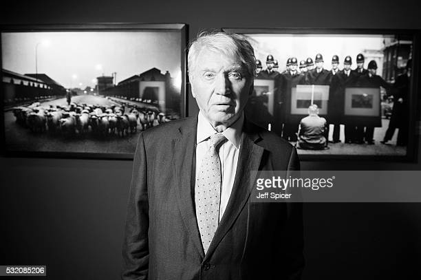 Don McCullin at the opening of Photo London the UK's largest ever photography event which runs from Thursday 19 Sunday 22 May 2016 at Somerset House...