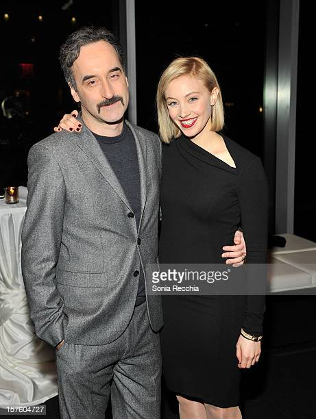 Don McKellar and Sarah Gadon host Canada's Top Ten Announcement/Press Conference at TIFF Bell Lightbox on December 4 2012 in Toronto Canada