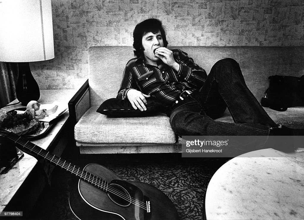 Don McLean posed in Amsterdam, Netherlands in 1974
