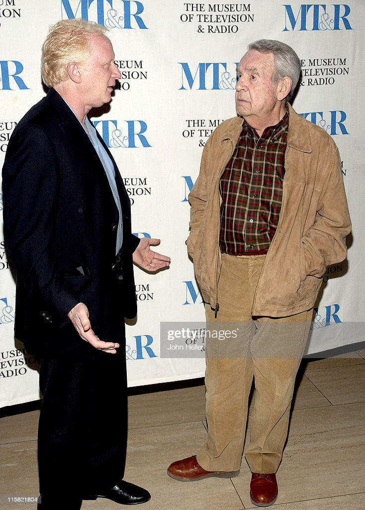 Don Most and Tom Bosley during 'Happy Days' 30th Anniversary Reunion at The Museum of Television and Radio in Beverly Hills California United States