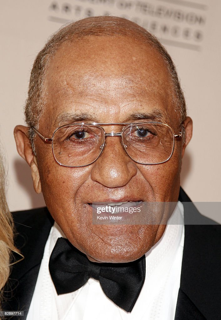Don Newcombe, former L.A. Dodger, arrives at the 60th Annual Los Angeles Area Emmy Awards at the Leonard H. Goldenson Theatre on September 6, 2008 in North Hollywood, California.