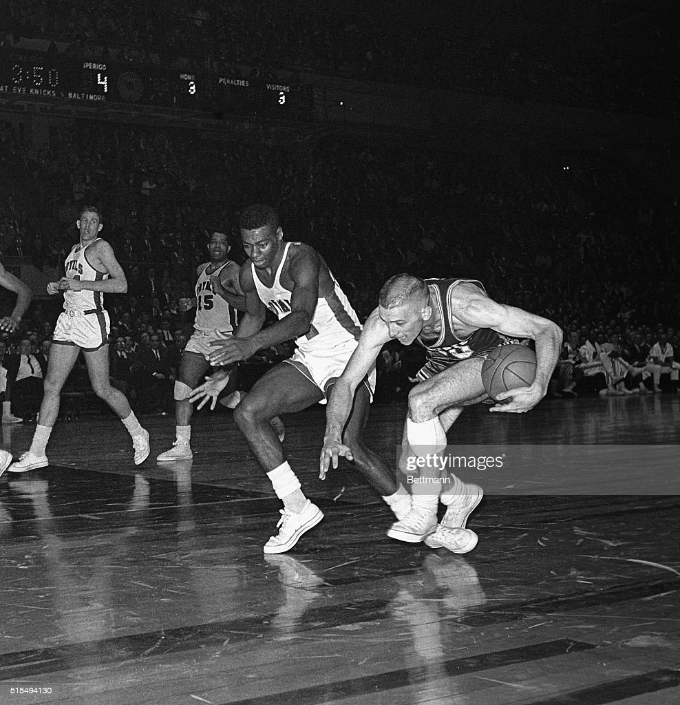 Don Ohl Tripping Over Oscar Robertson s Foot
