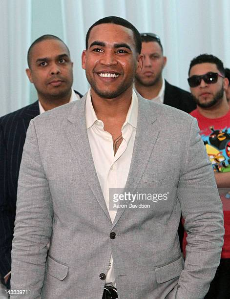 Don Omar attends Billboard Latin Music Conference 2012 at JW Marriott Marquis on April 24 2012 in Miami Florida