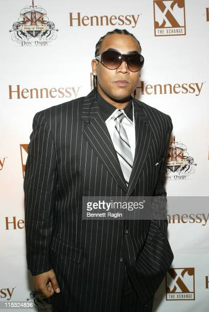 Don Omar during 2006 Latin Grammy's AfterParty Sponsored by Hennessy and Hosted by Don Omar at XChange in New York City New York United States