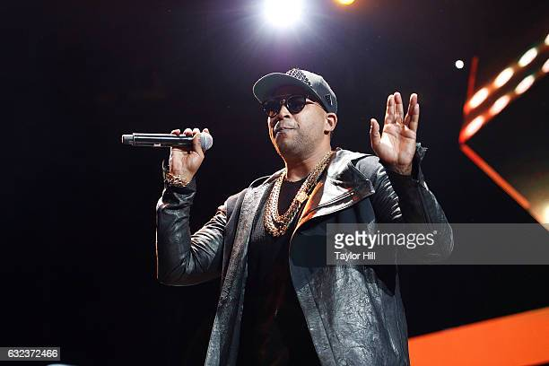 Don Omar performs during Mega 963's Calibash 2017 at Staples Center on January 21 2017 in Los Angeles California