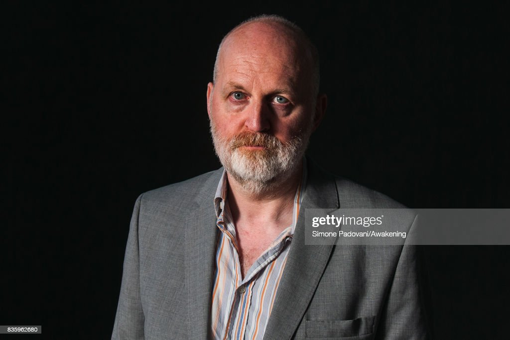 Don Paterson attends a photocall during the Edinburgh International Book Festival on August 20, 2017 in Edinburgh, Scotland.