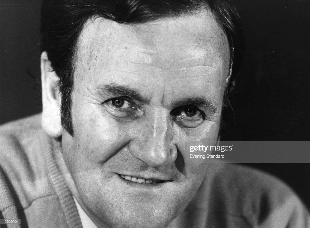 Don Revie (1927 - 1989), the England football team manager who left abruptly for a Middle East coaching position in 1977.