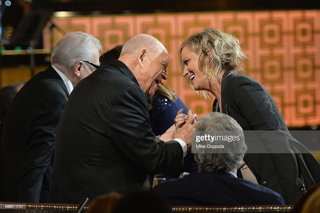 <a gi-track='captionPersonalityLinkClicked' href=/galleries/search?phrase=Don+Rickles&family=editorial&specificpeople=1474774 ng-click='$event.stopPropagation()'>Don Rickles</a> and <a gi-track='captionPersonalityLinkClicked' href=/galleries/search?phrase=Amy+Poehler&family=editorial&specificpeople=228430 ng-click='$event.stopPropagation()'>Amy Poehler</a> speak onstage at Spike TV's '<a gi-track='captionPersonalityLinkClicked' href=/galleries/search?phrase=Don+Rickles&family=editorial&specificpeople=1474774 ng-click='$event.stopPropagation()'>Don Rickles</a>: One Night Only' on May 6, 2014 in New York City.