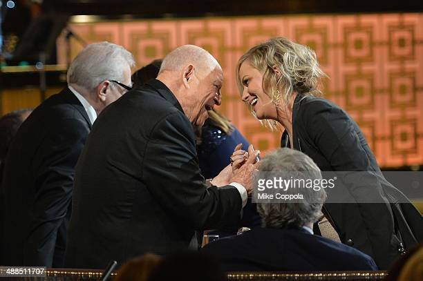 Don Rickles and Amy Poehler speak onstage at Spike TV's 'Don Rickles One Night Only' on May 6 2014 in New York City