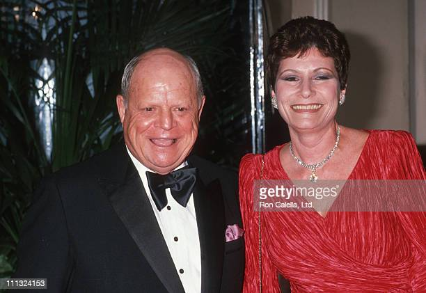 Don Rickles and Barbara Rickles during American Film Institute Honors Gregory Peck at Beverly Hilton Hotel in Beverly Hills CA United States