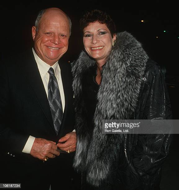Don Rickles and Barbara Rickles during Don Rickles Sighted at Chasen's Restaurant at Chasen's Restaurant in Beverly Hills California United States