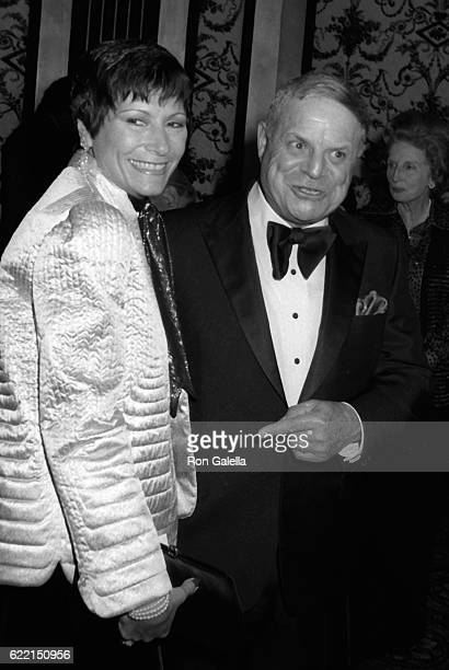 Don Rickles and wife Barbara Rickles attend Myasthenia Gravis Foundation Awards Benefit on February 20 1982 at the Beverly Hills California