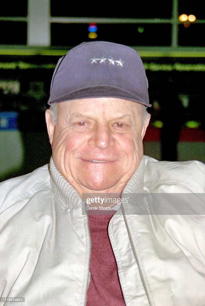 Don Rickles during Don Rickles sighting at JFK Airport - April 11, 1996 at JFK Airport in New York City, New York, United States.