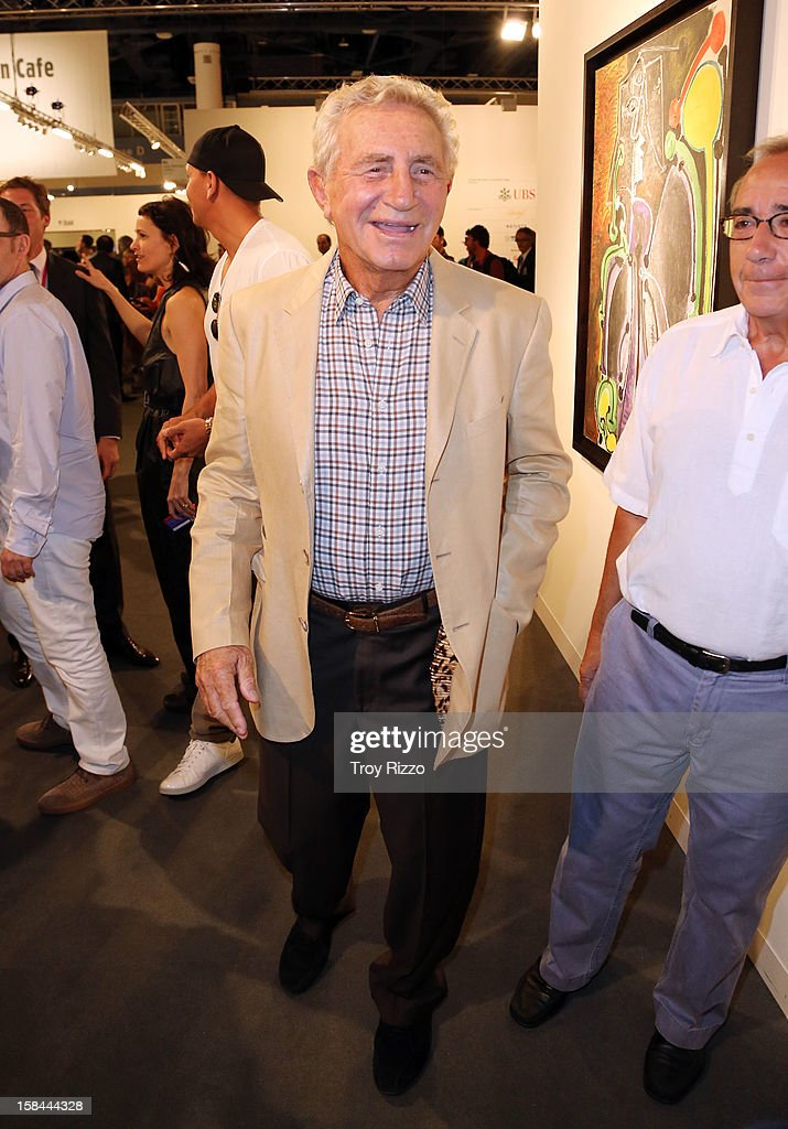 Don Soffer is sighted during Art Basel Miami at the Miami Beach Convention Center on December 7, 2012 in Miami Beach, Florida.