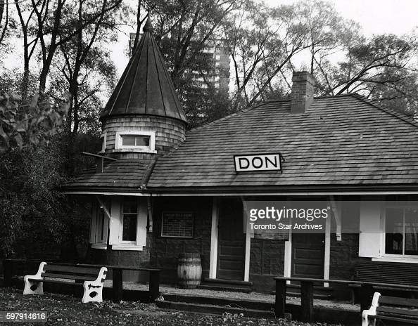 Don Station Todmorden Mills Built in 1881 by the CPR Originally stood at Queen St and the Don River Moved to Todmorden Mills in 1969 67 Pottery Rd...