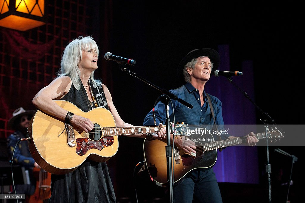 Don Was, Emmylou Harris and Rodney Crowell perform at the 12th Annual Americana Music Honors And Awards Ceremony Presented By Nissan on September 18, 2013 in Nashville, United States.